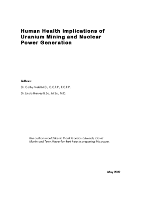 Human-Health-Implications-of-Uranium-Mining-and-NPower