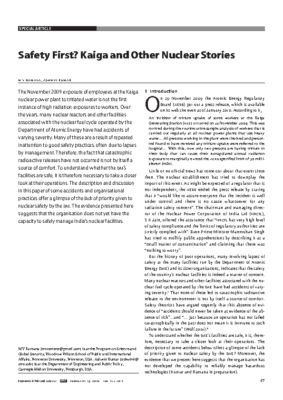 Safety-First-kaiga-and-Other-Nuclear-Stories