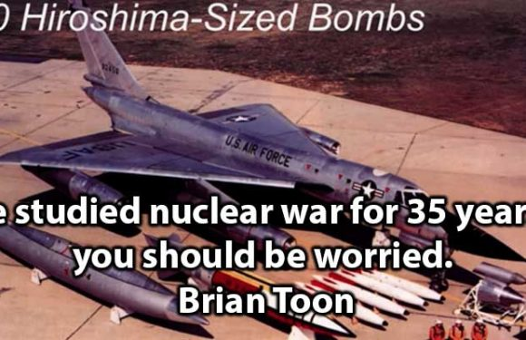 I've studied nuclear war for 35 years – you should be worried.   Brian Toon
