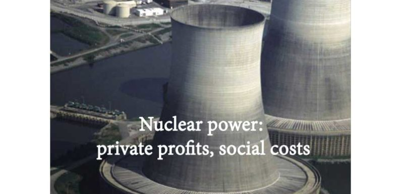 Nuclear power: private profits, social costs