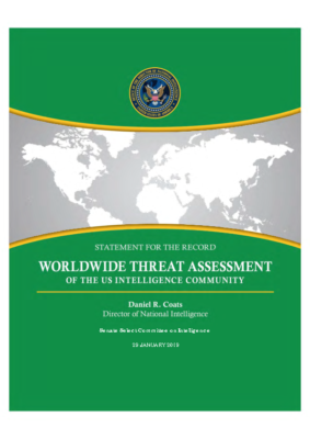WORLDWIDE THREAT ASSESSMENT of the US INTELLIGENCE COMMUNITY_2019