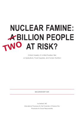 NUCLEAR FAMINE – TWO BILLION PEOPLE AT RISK